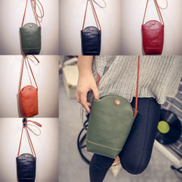 Chinese  Retro Women Wallet Purse Travel Organizer Container Leather Coin Cell Phone Mini Cross-body Shoulder Bag Case Handbag Pouch manufacturers