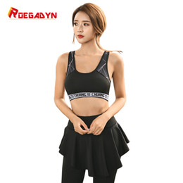 Wholesale RoegadynSport Bra Pants Quick Dry Girls Breathable Yoga Suits Running Suit Female Gym Jogging Sport Set summer For Women