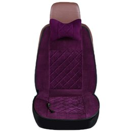 Chinese  Car Heating Cushion Winter Mat Car Universal Seat Electric Heating Seat Cushion 12v Electric Pads manufacturers