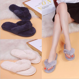 $enCountryForm.capitalKeyWord Australia - Spring and autumn flat with simple hair clips flip flops women cotton slippers herringbone sandals
