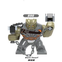 Super Blocks Australia - Legolingly Super Heroes Thanos Black Dwarf Figure Set Thanos Infinity Glove Building Blocks Blocks Set Toys for Children