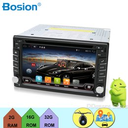 Gps Free Maps Wifi Australia - 2 din Android 7.1 cassette player for Universal Car Radio Tape Recorder 6.2inch with WIFI GPS Navigation Bluetooth Free Map Cam