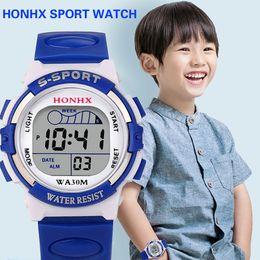 $enCountryForm.capitalKeyWord Australia - Fashion Brand Women Men Sports Quartz Wristwatches Waterproof Children Boys Digital Led Sports Watch Kids Alarm Date Watch Gift