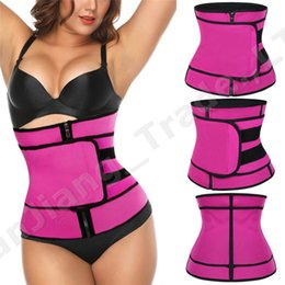 Tank brand online shopping - Unisex Waist Shaper Adjustable Summer Body Shaper Waist Trainer Slimming Belts Women Men Shapewear Waistband Fitout Sports Assistants A42308