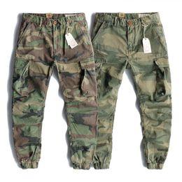 $enCountryForm.capitalKeyWord UK - Fashion Mens Track Pants Causal Cargo Pants Camouflage Jogging Pants Zipper Overalls Beam Foot Trousers Irregular Jogging Sweatpants