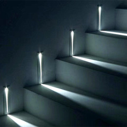 indoor step lights Australia - 3W Recessed Led Stair Light AC85-265V Indoor IP20 Corner Wall lights Stairs Step stairway Hallway staircase lamp