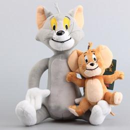 $enCountryForm.capitalKeyWord NZ - Cartoon Tom and jerry Plush Toy soft lovely Anime simple doll men and women popular birthday gift New Arrival 27 8xq I1