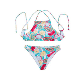 45ec6be68049 fashion Bohemian print straps split swimsuit women women's swimwear sexy  beach BIKINI seasides swimming suits swimsuits