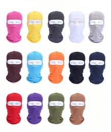 Bicycle ski mask online shopping - 2019 Cycling Bicycle Motorcycle Mask Caps Sunscreen Hood UV Protection Balaclava Ski Full Face Mask Breathable Windproof Dust Headsets H511F