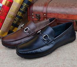 $enCountryForm.capitalKeyWord Australia - European style Genuine leather Fashion men's leisure shoes classic male model casual shoes driving business dress shoes.38 43 h99