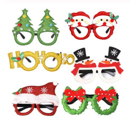 creative costumes for adults 2020 - Christmas Glasses, Novelty Xmas Themed Party Prop, Creative Funny Eyewear Holiday Costume Eyeglasses for Adults and Kids