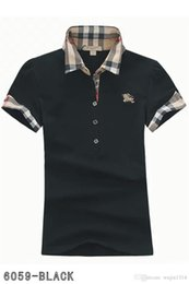 Blouses polo online shopping - Polos ladies fashion casual polo shirt ladies polo shirt color s XL Camisetas blouse Mujer camiseta A011