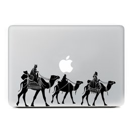 "cool stickers for laptops 2019 - Desert death squads Laptop Sticker for MacBook Decal Air Pro Retina 11"" 13"" 15"" Computer Mac Cool skin Pe"