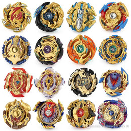 Wholesale 16 Upgraded 4D Beyblade Burst Toys Arena Beyblades Metal Fighting Explosive Gyroscope Fusion God Spinning Top Bey Blade Blades