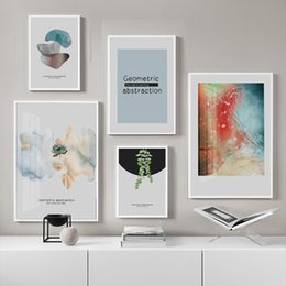 Modular hoMes online shopping - Wall Art Canvas Picture Posters Modern Geometric Abstract Colorful Painting Prints Home Decoration Modern Modular Living Room
