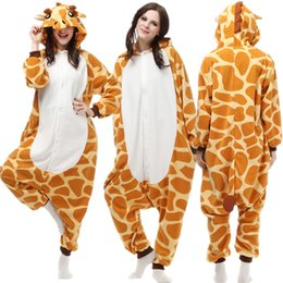 Adult Polar Fleece Cosplay Giraffe Costume Cartoon Onesie Loose Pajama  Halloween Carnival Masquerade Party Jumpsuit Anime Outfit 661ada037