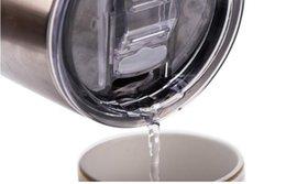 Оптовая продажа для 20 30 унций кружки чашки крышка кружки крышка прозрачные прозрачные крышки крышка автомобили пивная кружка брызги разлива доказательство крышки