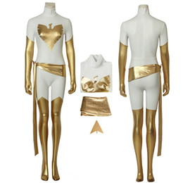 phoenix costume x men movie Canada - White Phoenix Costume X-Men Cosplay Jean Grey For Christmas