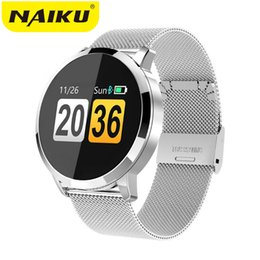 $enCountryForm.capitalKeyWord Australia - Q8 Smart Watch OLED Color Screen Heart Rate Monitor Blood Pressure Oxygen IP67 men Fashion Fitness Tracker Heart Rate