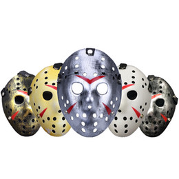 friday 13th jason mask Australia - Jason Voorhees Mask Halloween Horror Masks Party Maske Masquerade Cosplay Friday The 13th Scary Masque Funny Terror Mascara Prop