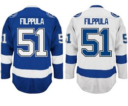 Ice Tops Australia - Factory Outlet, Cheap Factory Directly Supply Mens #51 Valtteri Filppula Jersey Top Quality Embroidery Logos Ice Hockey Jerseys Accept Mix O