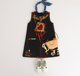 $enCountryForm.capitalKeyWord Australia - Princess Skirt 2019 Spring Dress New Girl Printed Dress vest Skirt