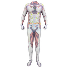 Wholesale tight game for sale – halloween Cosplay Costume lycra Spandex Zentai Tight Children Adult Genji game clothing watch pioneer cos source costume anime