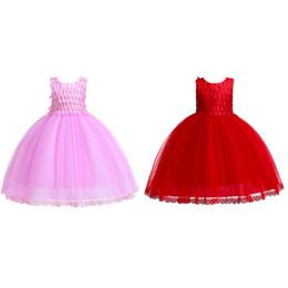 Gauze balls online shopping - Girl Dresses Girl Screen Sequined Flamboyant Skirt Girl Printed Dresses Children Dresses Lace Gauze Cotton