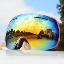 $enCountryForm.capitalKeyWord Australia - Double lens Snowboard Glasses For Men Women Winter Mountain Sports Ski Goggles Mountaineering Snow Eyewear Snowmobile Protection