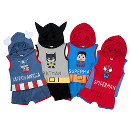animal hoodie vest 2019 - Summer baby boys suits casual newborn outfits cartoon newborn baby boy clothes baby infant boy designer clothes hoodie V