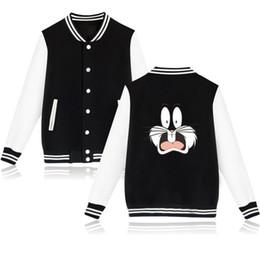 $enCountryForm.capitalKeyWord Australia - Funny Bunny Winter Long Girl Uniform Jacket Women Casual Cotton Sweatshirt Women Jacket Coat Fashion Jacket Clothes