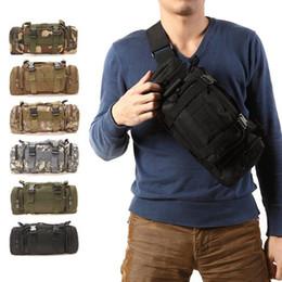 Bolsa de Cintura 600D Bolsa de ombro Escalada Militar Ttica Prova DGUA Oxford Para Acampamento Pesca Bolsa im Angebot