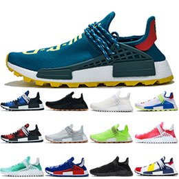 $enCountryForm.capitalKeyWord Australia - Fashion Human Race running shoes for men women BBC Black Gum Creme nerd Digijack Pack Blue Green Digijack Pack Red designer sneakers trainer