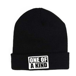 91bda0e7938 One-of-a-kind Letter Wool Knit Hat Hip-hop Hats For Women Fashion Elegant  All-match Warm Winter Hats For Women
