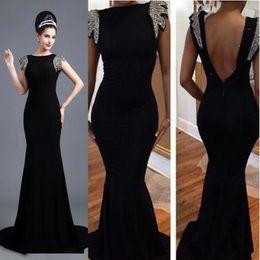 Vestidos de fiesta en negro y plata
