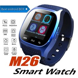 $enCountryForm.capitalKeyWord Australia - M26 SmartWatches Cheap Bluetooth Smart watch With Music Player Pedometer For IP Android Smart Phone fashion Watch Smart Clock