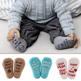 China 201910 Baby Letter Alphabet Socks Kids Newborn Winter Foot Warm 4 Styles Soft Cotton Cartoon Socks Toddler Floor Sock for Girls Boys M796F cheap cartoon feet suppliers