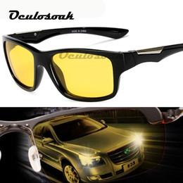 $enCountryForm.capitalKeyWord NZ - Unisex Hd Yellow Lenses Sunglasses Men Women Sunglasses Night Vision Goggles Car Driving Driver Glasses Eyewear Uv400 2019 New