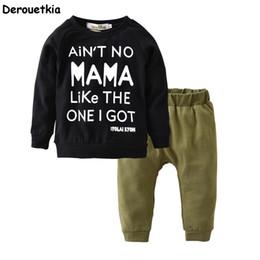 boys fashion sets 2019 - Autumn baby boy clothing set cotton long sleeve t-shirt+pants fashion baby boys clothes infant 2pcs suit kids outfits di