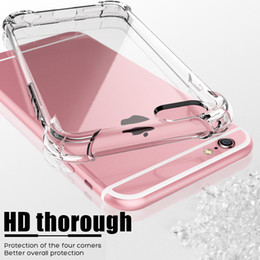 case protection iphone 5s NZ - Luxury Shockproof Silicone Phone Case For iPhone X XS XR XS Max 8 7 Plus 6 6S Plus 5 5S Case Transparent Protection Back Cover