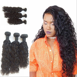 18 Inch Human Hair For NZ - Brazilian Human Hair Body Wave Bundles for 3pcs Double Weft Hair Weaves 8-30 inch Natural Color Large Stock FDSHINE