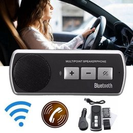 $enCountryForm.capitalKeyWord Canada - KROAK Wireless bluetooth Car Kit Handsfree Speaker Phone Sun Visor Clip Drive Talk Speakerphones for i Phone Android