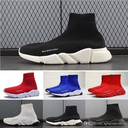 Speed S NZ - 2019 designer Sock Shoes Speed Shoes women boots Sneakers designer shoes Trainer s Socks Race Runners black Shoe man woman shoe old shoe