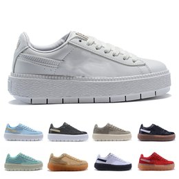 ShoeS for girlS Size 36 online shopping - 2019 New Fashion designer sneakers rihanna s Shoes For Women Trainers Casual Shoes Designer Girl Sneakers Sports Shoes Size