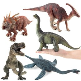 $enCountryForm.capitalKeyWord NZ - Model Building blocks Plesiosaur tyrannosaurus Dinosaur Toys World Park Animal Series Model Figure kits Bricks Children intellectual puzzle
