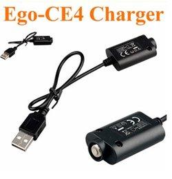 Vente en gros Ego USB Câble de charge pour chargeur de batterie électronique pour ego-t vision spinner ecig Battery 18650 chargeur de batterie (en stock)