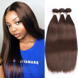 Wholesale Light Brown Brazilian Hair Straight High Quality Brazilian Hair Extension Big Deal Brazilian Human Hair Weave Straight For Black Women