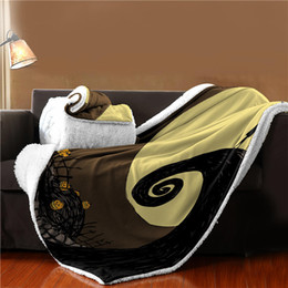 Relaxing Beds Australia - Soft Thick Fleece Throw Blanket with Sleeve for Bed Cosy Travel Plaids TV Casual Relax for Family Holiday Warm Winter Plush