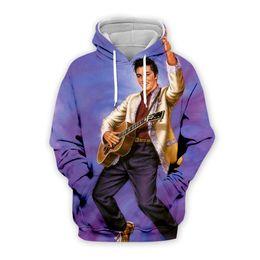 $enCountryForm.capitalKeyWord UK - PLstar Cosmos Elvis Presley 3D Print Hoodie Sweatshirt Jacket  shirts Men Women Tees hip hop apparel drop shipping
