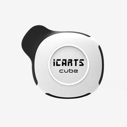 Chinese  Newest icarts cube pod system oil vaporizer kit glass tank atomizer empty 1ml ceramic heating cartridge imini 550mah voltage variable e cig manufacturers